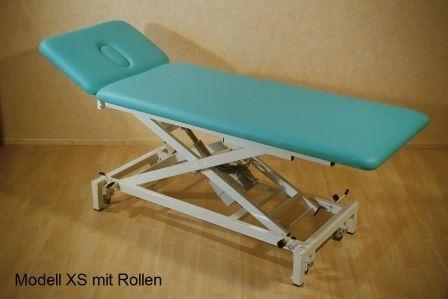 therapieliege modell xs elektrisch mit rollen ibenthaler. Black Bedroom Furniture Sets. Home Design Ideas