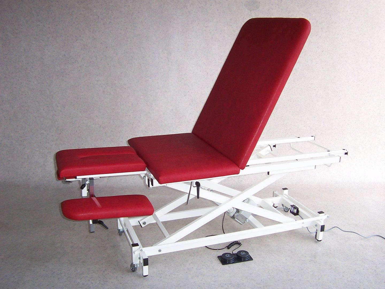 therapieliege modell xs elektrisch mit 3 tlg kopfteil. Black Bedroom Furniture Sets. Home Design Ideas